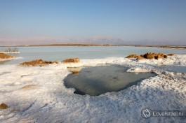 Соль на Мертвом море.