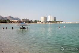 Мертвое море, Израиль.