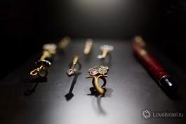 Эксклюзивные алмазные украшения и ручка.