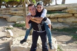 Одна из поездок по Израилю.