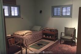 Спальня Давида Бен-Гуриона.