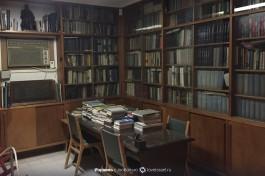 Кабинет Бен-Гуриона. Книги-книги-книги.