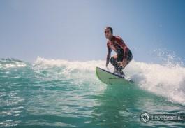Серфинг в Израиле - это всегда масса впечатлений! Фото - Михаил Нахимович.