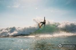 Серфинг в Израиле - это здорово! Фото - Михаил Нахимович.