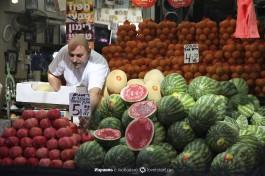 Рынок Кармель в Тель-Авиве - изобилие израильских фруктов!