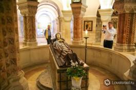 Дева Мария на смертном одре.