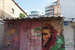 Улица гаражей, Флорентин.