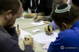 Игра израильских команд ЧГК в Тель-Авиве.