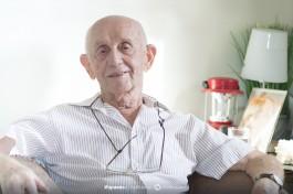 Ицхак Шайн - человек, переживший Катастрофу в Польше.
