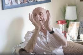 Ицхак рассказывает о прошлом и о том, что пережил.