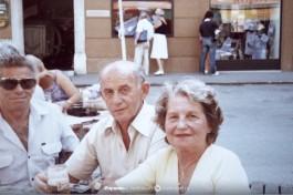 Ицхак и его жена Таня, около 20 лет назад.