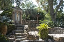 Территория подворья Марии Магдалины в Тверии