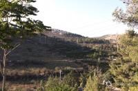 Мевассерет-Цион издали. Вид со стороны Иерусалима.