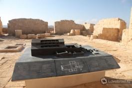 План древнего города Авдат, крупнейшего города Набатеев.