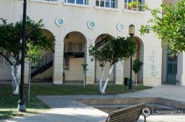 Комплекс Центра сценических искусств Сюзан Даляль в Тель-Авиве.