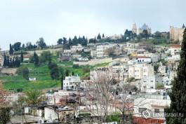 Иерусалим - город, прекрасный в любую погоду. Фото - Игорь Гершензон.