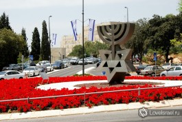 День независимости Израиля, город Иерусалим. Фото - Игорь Гершензон.