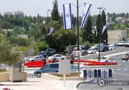 День независимости Израиля, в городе Иерусалим. Фото - Игорь Гершензон.