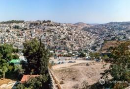 Вид с Сионской горы на Иерусалим.