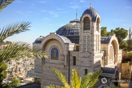 Церковь святого Петра в Иерусалиме на месте дома первосвященника Кайафы.