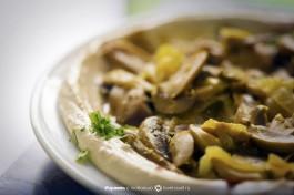 Хумус с грибами. Самый вкусный :)