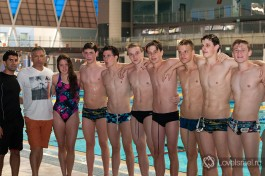 Наша сборная по плаванию.