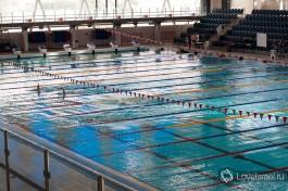 Наш олимпийский бассейн.