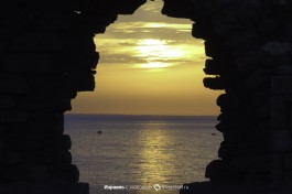 Закаты на пляже Ашкелона.