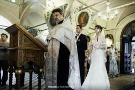 Венчание в церкви Святой Тавифы в Яффо.