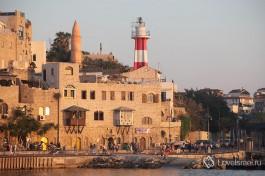 Старый Яффо, маяк... только не работает сейчас ).Город Тель Авив.
