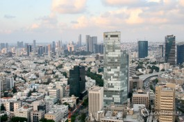 Тель Авив с высоты птичьего полета. Правда замечательно? )