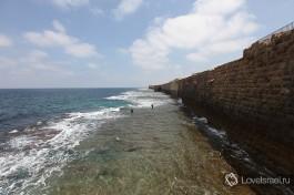 Крепостные стены вокруг города Акко. Их не смог взять сам Наполеон!