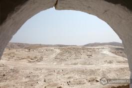 Могила пророка Моисея? Дикие просторы Иудейской пустыни.