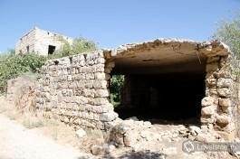 Старые дома в друзской деревне Мрар, около Кармиэля.