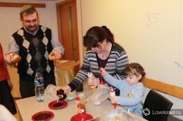 Суфгания - ханукальный пончик с повидлом, излюбленное лакомство детей и взрослых... Только бегать после них надо )