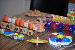 Работы участников конкурса по изготовлению ханукиет. Правда замечательные работы?