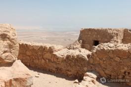 Крепость Масада. Пример мужества и отверженности древних иудеев.