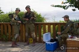 Солдаты Израильской Армии. Всепоражающая улыбка )
