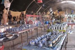 Сувенирная лавка в Израиле. Рассчитывайте правильно возможности своих чемоданов )