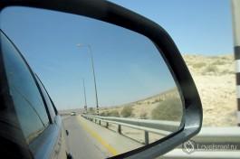 Пустыня по дороге в Эйлат.