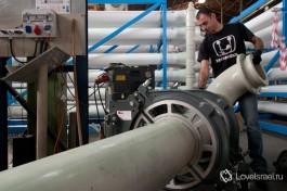 Производственный цех GES. 99% процентов работ по сбору установок производятся в цехах GES.  После отправки готовой продукции «в поле» остается только подключить электричество и подать воду на очистку.