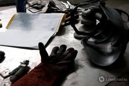 Рабочий стол сварщика. В цехах GES делают все виды сварочных работ по мировым стандартам ASME.