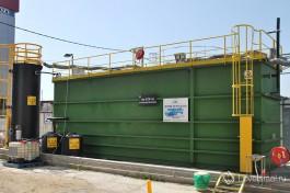 Мембранный биореактор, разработанный в GES. Практически безотходная установка, очищающая сточные воды для использования на технические нужды завода.