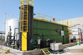 Очистные сооружения для крупного фармацевтического завода. Эта уникальная установка очищает отходы производства медикаментов с очень высоким уровнем загрязнения.