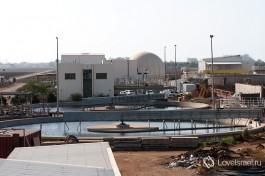 Очистные сооружения в Акко. Центр управления станцией.