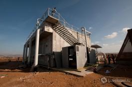 Очистные сооружения в Акко. Конструкция третичного фильтра. Предпоследняя стадия очистки сточных вод.