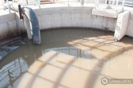 Очистные сооружения в Акко.
