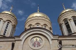 Храм Всех святых в земле Российской просиявших, Горненский монастырь.