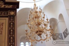 Внутри Храма Всех святых в земле Российской просиявших, Горненский монастырь.