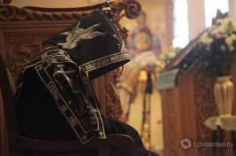 Утренняя молитва в Горненском монастыре.